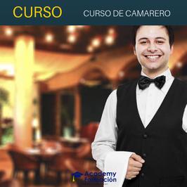 OFERTA! Curso Online de Camarero + Titulación Certificada