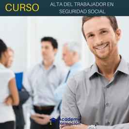 OFERTA! Curso Online de Alta del Trabajador en Seguridad Social + Titulación Certificada