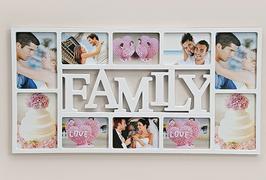 Fotorahmen Family - 10 Foto's