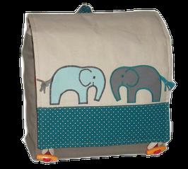 Kinderrucksack Elefantenduo