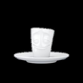 Espresso Mug mit Henkel fiftyeight - vergnügt