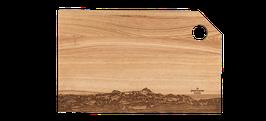 """Holz-Schneidebrett Classic XL """"SÄNTIS"""""""