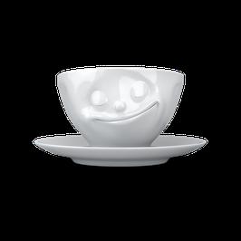 Kaffeetasse 200ml - glücklich