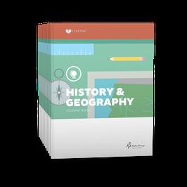 LIFEPAC® 4th Grade History & Geography 10-Unit Set  LIFEPAC®4年级历史和地理学生本10单元组合