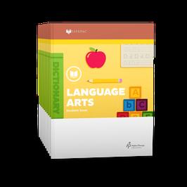 LIFEPAC® 1st Grade Language Arts 10-Unit Set  生命课程一年级语言艺术学生本 1-10 册套装