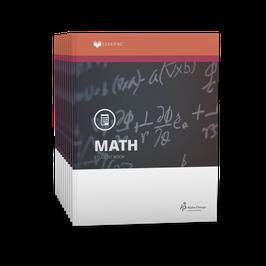 LIFEPAC® 6th Grade Math 10-Unit Set  LIFEPAC®6年级数学学生本10单元套装