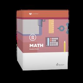 LIFEPAC® 4th Grade Math 10-Unit Set  LIFEPAC®4年级数学学生本10单元套装