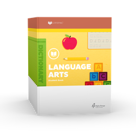 LIFEPAC® 2nd Grade Language Arts 10-Unit Set  LIFEPAC®2年级语言艺术学生本 10 单元套装