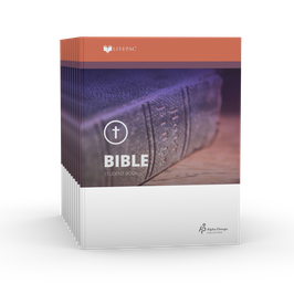 LIFEPAC® 7th Grade Bible 10-Unit Set  LIFEPAC®7年级圣经学生本10单元套装
