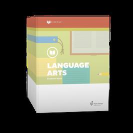 LIFEPAC® 4th Grade Language Arts 10-Unit Set LIFEPAC®4年级语言艺术学生本 10 单元套装