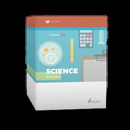 LIFEPAC® 5th Grade Science 10-Unit Set  LIFEPAC®5级科学科学学生本10单元套装