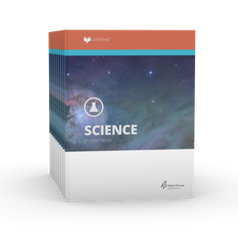 LIFEPAC® 8th Grade Science 10-Unit Set  LIFEPAC®8级科学科学学生本10单元套装