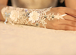 LHXC Bridal Gloves- LHXC婚纱手套