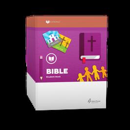 LIFEPAC® 1st Grade Bible 10-Unit Set 生命课程一年级圣经学生本 1-10 册套装