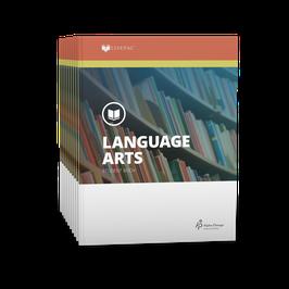 LIFEPAC® 9th Grade Language Arts 10-Unit Set  LIFEPAC®9年级语言艺术学生本 10 单元套装