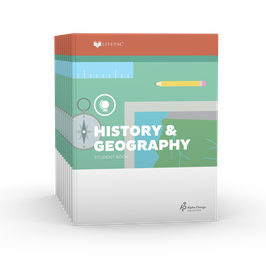 LIFEPAC® 5th Grade History & Geography 10-Unit Set  LIFEPAC®5年级历史和地理学生本10单元组合