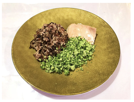 Organic Multicolor Rice Salmon 有机多色米三文鱼饭