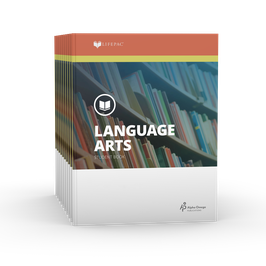 LIFEPAC® 8th Grade Language Arts 10-Unit Set  LIFEPAC®8年级语言艺术学生本 10 单元套装
