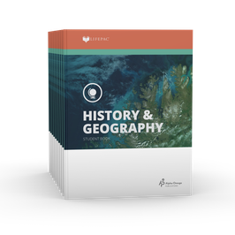 LIFEPAC® 6th Grade History & Geography 10-Unit Set  LIFEPAC®6年级历史和地理学生本10单元组合