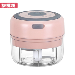 USB充电迷你家用电动蒜泥神器宝宝辅食机婴儿小型料理机打拉捣搅肉蒜蓉机