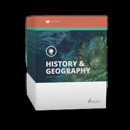 LIFEPAC® 8th Grade History & Geography 10-Unit Set  LIFEPAC®8年级历史和地理学生本10单元组合