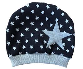 "Mütze ""Big Star"" Blau Grau"