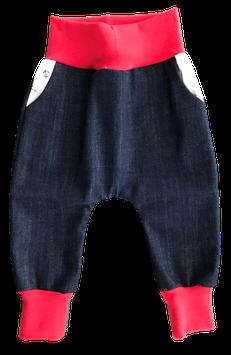 Funny Baggy Pant Blau Rot Anker