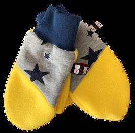 "Handschuhe ""Bumblebee"" Gelb Grau Blau"