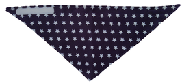 "Tuch ""Little Star"" Blau Grau"