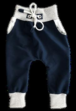 Funny Baggy Pant Blau weiß mit Anker