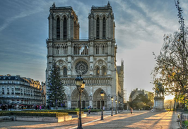 Notre-Dame et le coeur de Paris