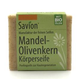 Peelingseife Mandel- Olivenkern