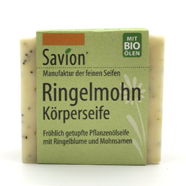 Peelingseife Ringelmohn