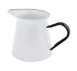 Milchkännchen aus Emaille