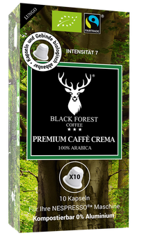 BLACK FOREST COFFEE ® - LUNGO KAPSELN, 55g