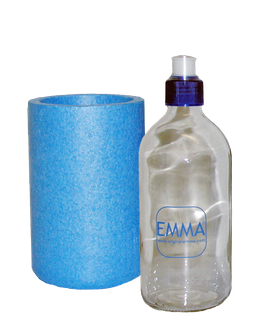 Set Original EMMA® Glasflasche 0,5 lt.