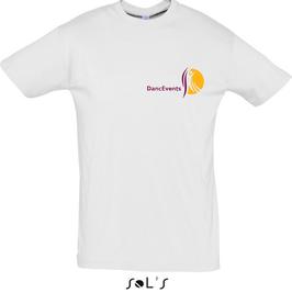 Herren-T-Shirt DancEvents weiß
