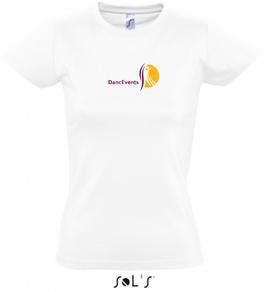 Damen-T-Shirt DancEvents weiß