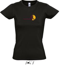 Damen-T-Shirt DancEvents schwarz
