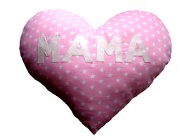 Herzkissen-Mama