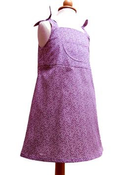 Kleid-lila/hellblau/rosa