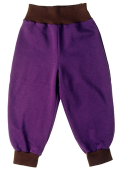 Jogginghose lila/braun