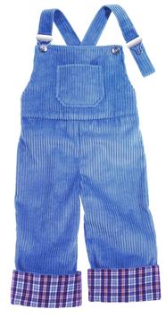 Latzhose-hellblau