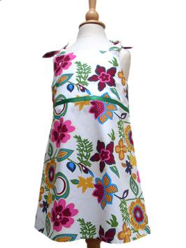 Kleid/bunte Blumen