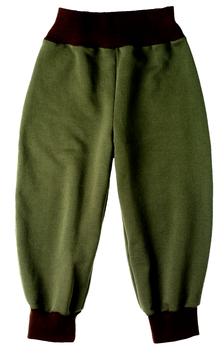 Jogginghose olivegrün/braun