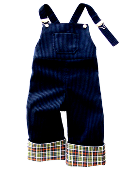 Latzhose-dunkelblau
