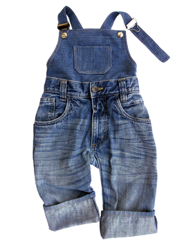 Upcycling Jeans-Latzhose