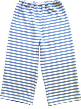 Spielhose-blau/weiß