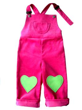 Latzhose-pink