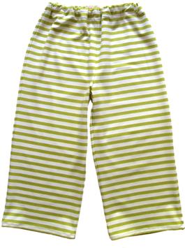 Spielhose-grün/weiß